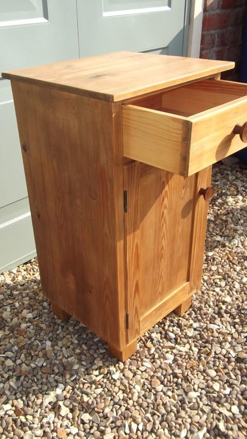 Antique Pine Pot Cupboard (ASM) - Antique Pine Pot Cupboard (ASM) Hawtum Antiques