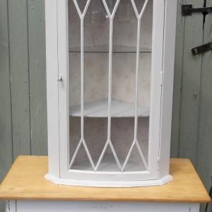 Shabby Chic Wall Corner Cabinet (515)