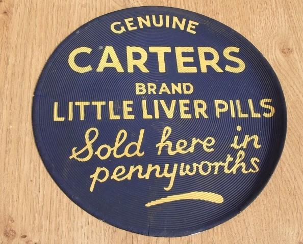 Carters Liver Pills Mat (591) - Hawtum Antiques