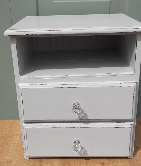 Shabby Chic Bedside Cabinet Asm