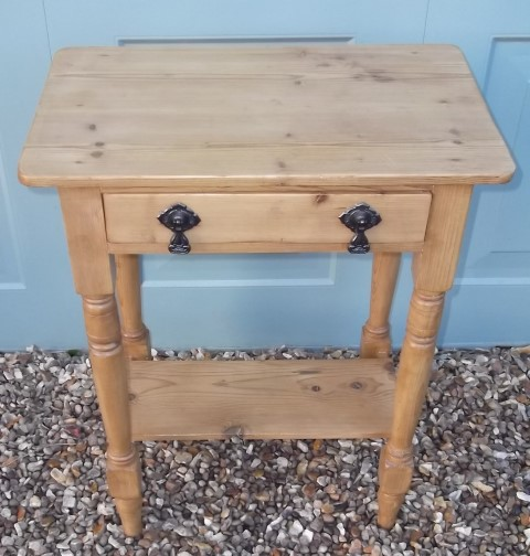 Antique Pine Hall Table (ASM)