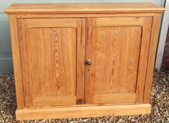 Antique Pine Cupboard (ASM2) - Antique Pine Cupboard (ASM2) Hawtum Antiques